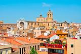 old town and Cathedral of Tarragona, Spain