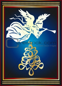 angel tree card design