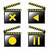 movie cinema detailed icons