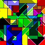 rectangular abstract pattern