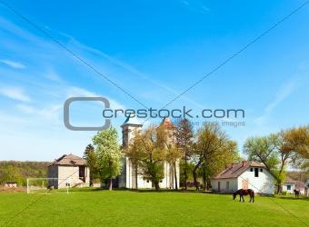 Old church (Sydoriv village, Ternopil region, Ukraine)