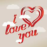 """I love you"" sentence"