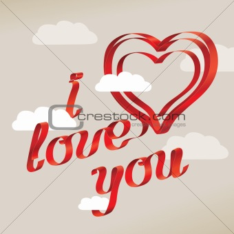 "image 3844205: ""i love you"" sentence from crestock stock photos"