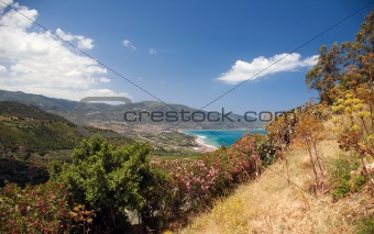 Beach and waterfront of Sicily, Italy