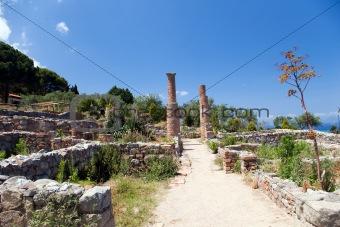 Archaeological ruins, Tindari, Sicily