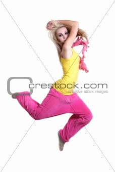 dancing girl