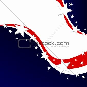 US election background