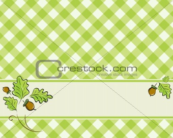 checkered background in a light green color