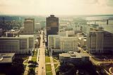 Aerial view of Baton Rouge