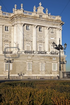 Palacio Real in Madrid