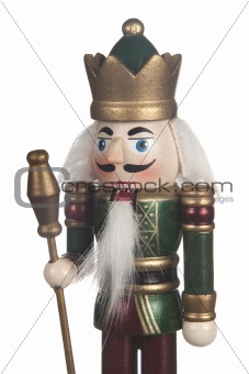King Nutcracker Soldier Close up