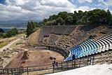 Classical old amphitheatre, Sicily, Italy