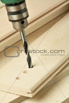 Wood drill