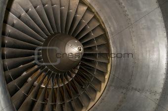 airplane turbine