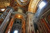 Indoor St. Peter's Basilica