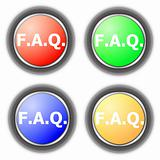 faq button collection