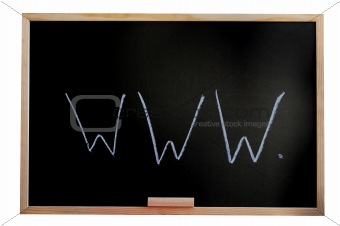 blackboard and internet