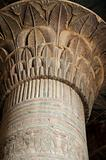 Column in the Temple of Khnum at Esna