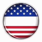 Blank patriotic button