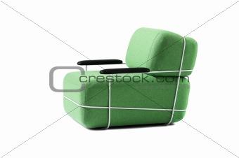 Green chair