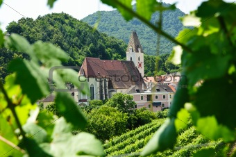 Austrian Church with natural Frame