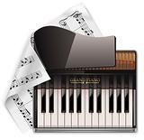 Vector grand piano XXL icon