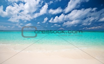 beautiful tropical coastline