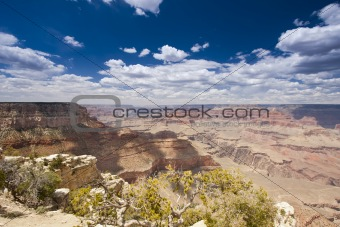 Beautiful Landscape of the Grand Canyon, Arizona.