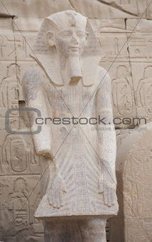 Statue at Karnak Temple in Luxor