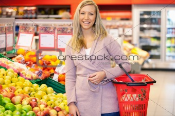 Supermarket Portrait