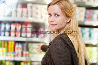 Grocery Store Woman