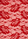 Background from red lace