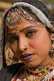 Portrait of a Rajasthani Dancer