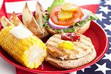 Fourth of July Picnic - Turkey Burger