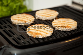 Grilling Turkey Burgers