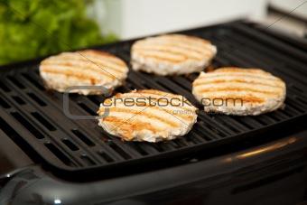 Grilling Turkey Burgers