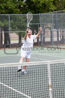Tennis Player - Winning