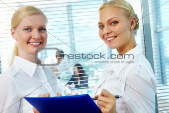 Two employees