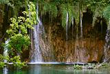 Waterfall by Plitvice Lakes, Croatia