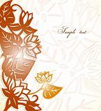 Floral Design. Vector