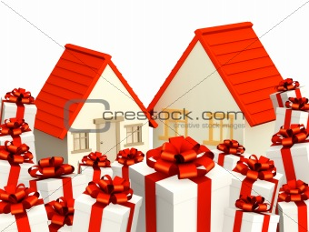 Houses and gifts