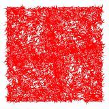 red angular texture