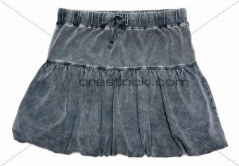 Gray feminine skirt