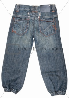 Baby jeans with pocket