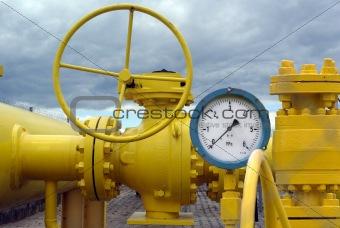 closed valve