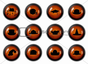 Hat Buttons