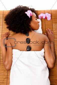 Beauty health day spa - hot lastone therapy