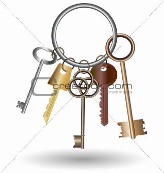 big bunch of keys