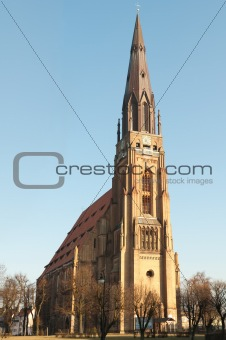 old gothic cathedral