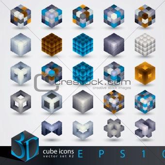 3D design elements.